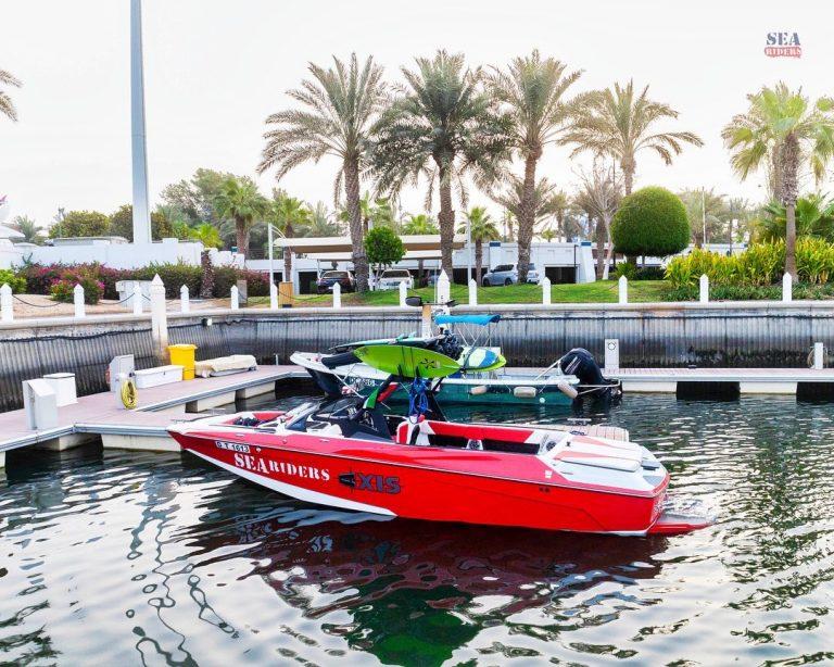 seariders creek location, axis, watersports, speedboat, wake boat