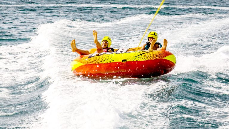 Donut boat fun watersports entertainment