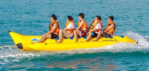 banana boat ride searidersuae dubai